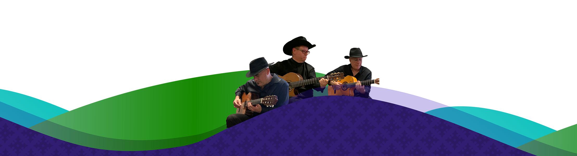 San Antonio Guitar Trío presents Solo, Duo, Trío: The Carver 2020 - 2021 Season